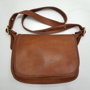 Coach Vintage Chesnut Leather Patricia Crossbody
